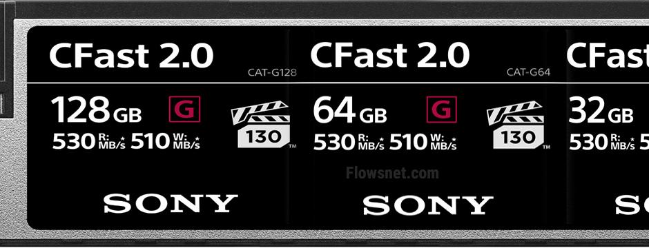Sony papildina profesionālo atmiņas karšu sēriju ar jaunām CFast kartēm