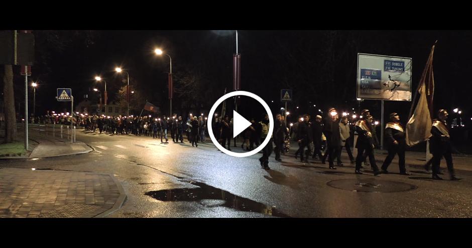LĀČPLĒŠA DIENAS LĀPU GĀJIENS JELGAVĀ 11.11.2017